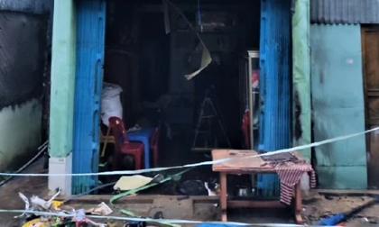 Nhà bùng cháy lúc rạng sáng, gia chủ phát hiện cửa đã bị kẻ xấu khóa bên ngoài