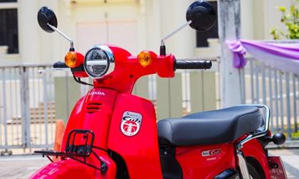 Ra mắt xe máy Super Cub 'phá đảo' tiết kiệm xăng, uống 1,4 lít/100km, giá cực 'thơm'