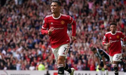 Ghi 2 bàn định đoạt trận đấu, Ronaldo đem về chiến thắng đậm đà siêu mãn nhãn cho Man United