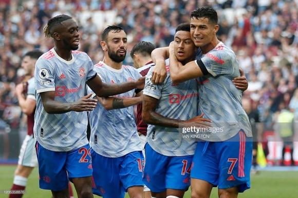 Ronaldo bùng nổ, De Gea cản 11m, Man United đánh bại West Ham với kịch bản nghẹt thở - Ảnh 5.