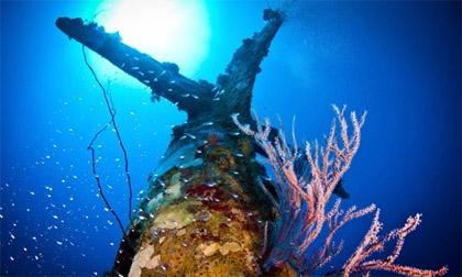 Nghĩa địa máy bay Mỹ dưới đáy đại dương