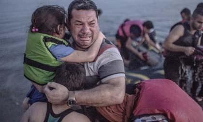 Loạt ảnh biết nói về khủng hoảng tị nạn ở châu Âu