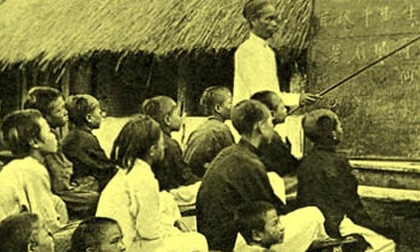 Hình ảnh thú vị về lớp học xưa