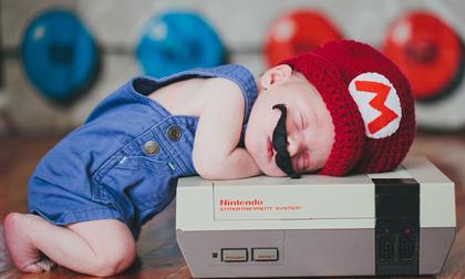 Những em bé 'siêu nhân' ngủ cực yêu