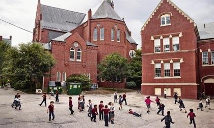 Sân trường của trẻ em khắp thế giới