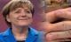 """Móng tay bà Merkel gây """"bão"""" mạng"""
