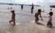 Điều tra nghi vấn mẹ lôi con xuống biển cho chết