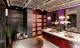 Trang trí phòng tắm với sắc tím hiện đại