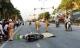 Xe tải cán chết người phụ nữ ngã từ xe máy xuống đường