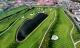 Sân golf 1.500 tỷ ở Hà Nội nhìn từ trên cao