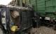 Hà Nội: Ôtô Lexus bị tàu hỏa tông nát đầu, 4 người bị thương