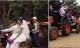 Phát sốt với đoàn rước dâu bằng 20 chiếc máy xúc ở Sơn La