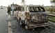 Ôtô 7 chỗ cháy rụi trên cao tốc TP HCM - Trung Lương
