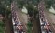 Ngạc nhiên hình ảnh hàng trăm người ngồi nóc tàu