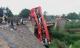 Xe khách 'leo' lan can cầu, một người chết, 10 bị thương