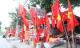Phố phường Hà Nội ngập tràn cờ đỏ sao vàng trước trận Việt Nam - Philippines