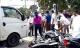 Xe tải húc hàng loạt xe máy dừng đèn đỏ, nhiều người nhập viện cấp cứu