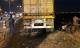 Xe container đâm hàng loạt xe trên cầu Thanh Trì, người đi xe máy văng xuống sông