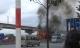 Xe ben bốc cháy dữ dội khi đang chạy ở quận Thủ Đức