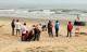 Hà Tĩnh: 4 học sinh rủ nhau đi tắm biển, 2 em bị sóng cuốn trôi