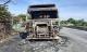 Xe đầu kéo bất ngờ bốc cháy khi lưu thông trên Quốc lộ 1A