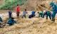 Hiện trường vụ sạt lở đất vùi lấp 11 người ở Phước Sơn