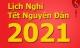 Thủ tướng 'chốt' lịch nghỉ tết Âm lịch 2021
