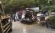 Tai nạn kinh hoàng trên đèo Bảo Lộc, ô tô tông vào lan can bê tông bẹp dúm, bé 7 tuổi tử vong
