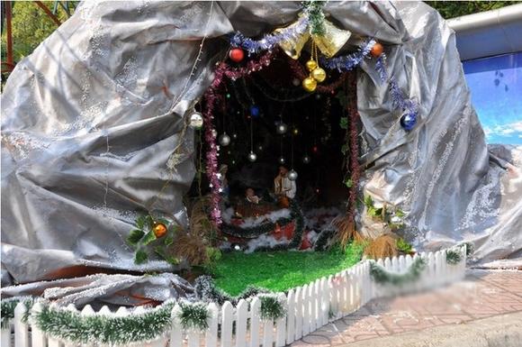 Con đường tuyết và công viên trắng tại Lễ hội Noel lớn nhất Việt Nam