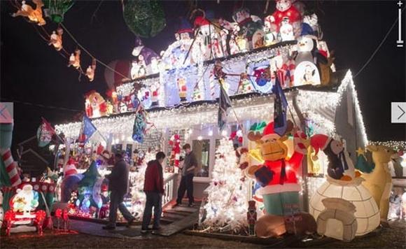 Thế giới rực sáng pháo hoa đón Noel 2014