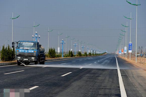 Ngắm cụm cầu Nhật Tân, đường Võ Nguyên Giáp trước ngày thông xe